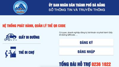 Đà Nẵng: Cấp 92.600 giấy đi đường cho người dân trong 2 ngày nghỉ