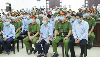 Xét xử vụ án ở xã Đồng Tâm: Nhiều bị cáo nhận tội, mong được hưởng khoan hồng