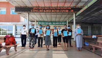 Thêm 4 bệnh nhân Covid-19 ở Quảng Nam khỏi bệnh, xuất viện