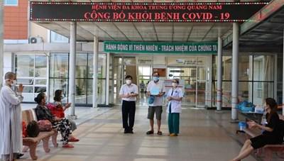 Quảng Nam chỉ còn 11 bệnh nhân Covid-19