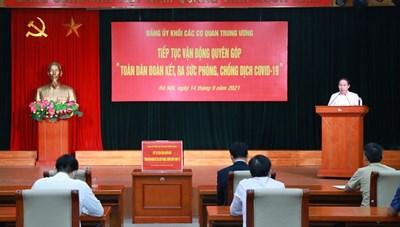 BẢN TIN MẶT TRẬN: 'Ai là người Việt Nam đều phải kề vai gánh vác một phần'