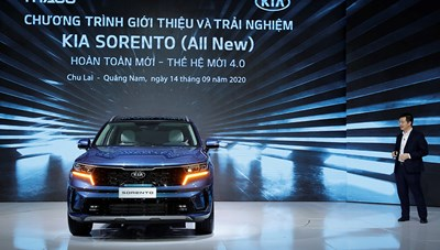 THACO giới thiệu mẫu xe Sorento thế hệ mới