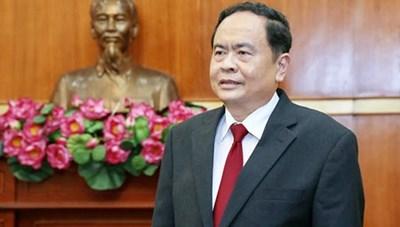 BẢN TIN MẶT TRẬN: Chủ tịch Trần Thanh Mẫn gửi điện mừng tân Chủ tịch Ủy ban Bảo vệ Cách mạng Cuba