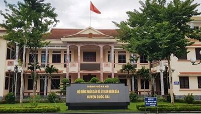 Huyện Quốc Oai (Hà Nội): Bất thường việc đấu thầu