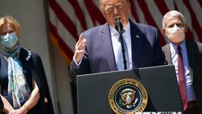 Bầu cử Mỹ 2020: Mức độ tín nhiệm với Tổng thống Trump vẫn ở mức thấp