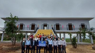 Những ngôi nhà tránh lũ ở Quảng Bình