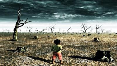 Nhiều người mất chỗ ở vì biến đổi khí hậu
