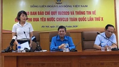 464 đại biểu tham dự Đại hội Thi đua yêu nước Tổng Liên đoàn Lao động Việt Nam