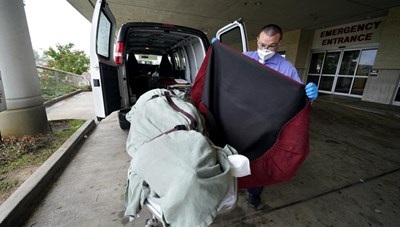 Mỹ ghi nhận 1.900 ca tử vong do Covid-19 trong một ngày