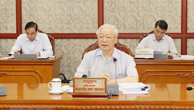 Ban Chỉ đạo trung ương phòng, chống tham nhũng thêm nhiệm vụ mới