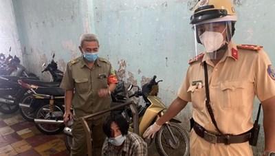 TP Hồ Chí Minh: Bắt đối tượng cướp giật trong giãn cách xã hội