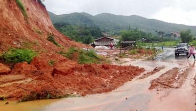 Thanh Hóa, Quảng Bình mưa rất to, đề phònglũ quét, sạt lở đất