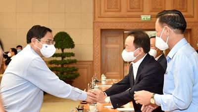 Thủ tướng Phạm Minh Chính: Chính phủ luôn đồng hành với doanh nghiệp trên tinh thần '3 không và 5 thật'