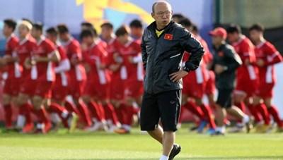 HLV Park Hang Seo dẫn dắt U22 Việt Nam dự Toulon Cup 2020