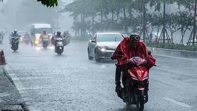 Không khí lạnh tràn về gây mưa lớn