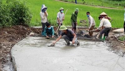 Sơn La: Nỗ lực xây dựng nông thôn mới