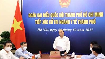 Chủ tịch nước Nguyễn Xuân Phúc: Từng bước mở cửa nhưng phải kiểm soát chặt chẽ