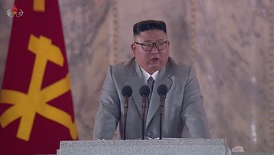 Chủ tịch Triều Tiên Kim Jong-un có bài phát biểu hiếm hoi trong lễ duyệt binh mừng ngày thành lập đảng