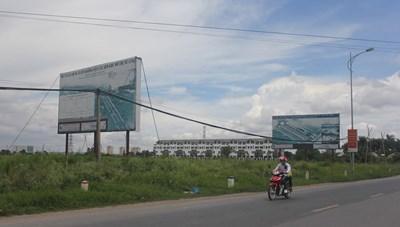Nhiều dự án ở Mê Linh (Hà Nội): 'Ôm' đất chờ cơ chế