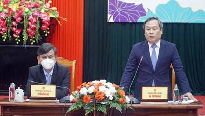 Tọa đàm trực tuyến 'Kết nối Quảng Bình - Hàn Quốc 2021'
