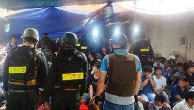 TP Hồ Chí Minh: Khởi tố 43 đối tượng tổ chức đánh bạc và đánh bạc