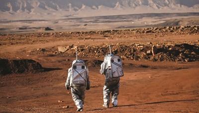 Vào miệng núi lửa để mô phỏng sự sống trên sao Hỏa