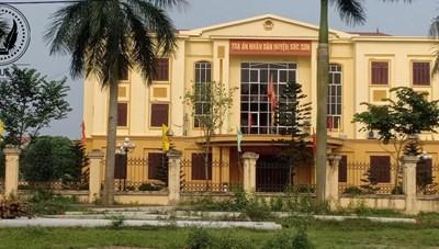 Tòa án nhân dân huyện Sóc Sơn có 'om bản án'?
