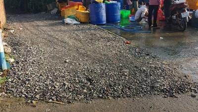 Đồng Nai: Khổ vì đường dân sinh ngập nước thải