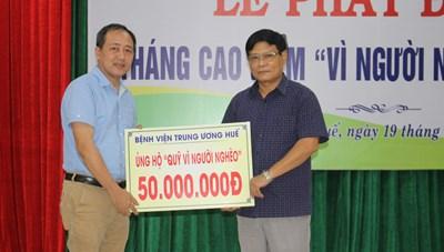 Thừa Thiên - Huế: Mặt trận phát động Tháng cao điểm 'Vì người nghèo'