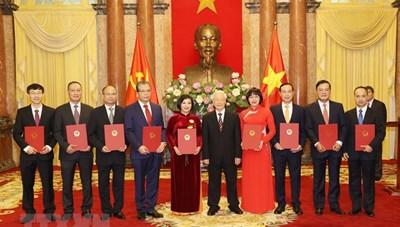 Tổng Bí thư, Chủ tịch nước trao quyết định bổ nhiệm Đại sứ