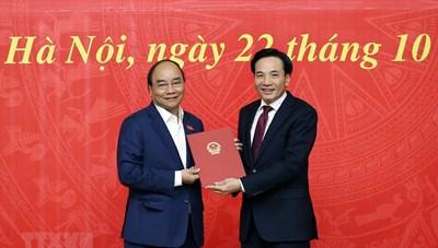 Ông Nguyễn Văn Sơn chính thức làm Phó Chủ nhiệm VPCP