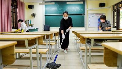 Để học sinh trở lại trường an toàn