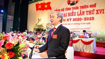 Ông Lê Trường Lưu tái đắc cửBí thư Tỉnh ủy Thừa Thiên - Huế