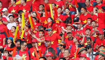 Sân Mỹ Đình: Đón 12.000 khán giả cổ vũ tuyển Việt Nam