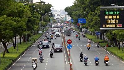 Dừng hoạt động hàng loạt chốt kiểm soát tại TP Hồ Chí Minh