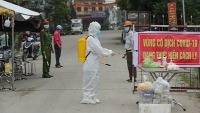 Hà Nội truy vết hơn 1.400 người liên quan ổ dịch mới ở Mê Linh