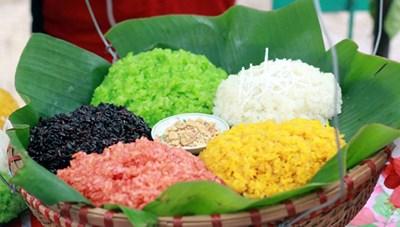 Xôi nếp của người Thái