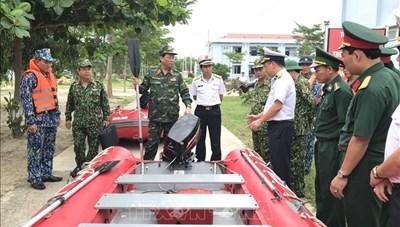 Quân đội huy động hơn 250.000 người tham gia ứng phó bão số 9
