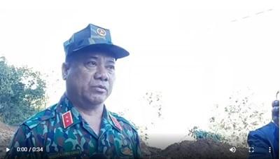 [VIDEO] Tư lệnh Quân khu 5 thông tin về phương án cứu nạn vụ sạt lở đất