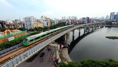 Tháng 12, vận hành thử đường sắt Cát Linh - Hà Đông
