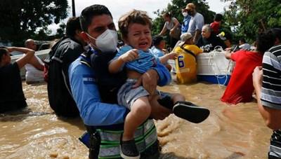 Số người thiệt mạng tăng tại Mexico và Honduras do bão Eta