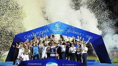 Viettel đăng quang V.League 2020