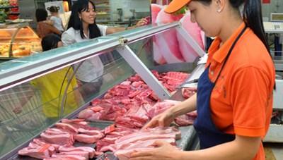 Giá thịt lợn hơi đang nhích dần