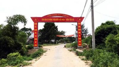 Quảng Ninh: Phấn đấu 90 xã đạt chuẩn nông thôn mới