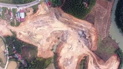 Vụ khai thác đất trái phép ở Lạng Sơn: Chủ tịch UBND tỉnh nói gì?