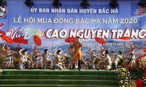 Lễ hội mùa đông 'Vũ điệu cao nguyên trắng'