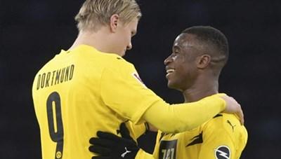 Bundesliga vòng 8: Erling Haaland, Youssoufa Moukoko đi vào lịch sử