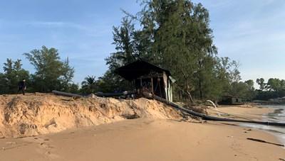 Phú Quốc (Kiên Giang): Khai thác cát- đe dọa tàn phá bãi biển