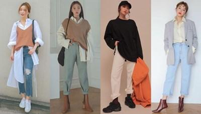 Thời trang 'oversize': Cách phối đồ nữ cá tính của giới trẻ hiện đại