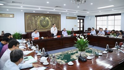 BẢN TIN MẶT TRẬN: Chủ tịch Trần Thanh Mẫn làm việc với Thường trực Tỉnh ủy Bạc Liêu